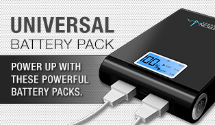 Electron Universal Battery Packs