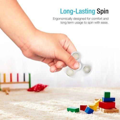 Fidget Spinner - Mini - White (6)